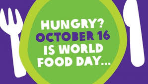 October 16 is World Food Day