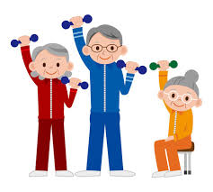 Staying active is a great way to stay healthy as you get older.
