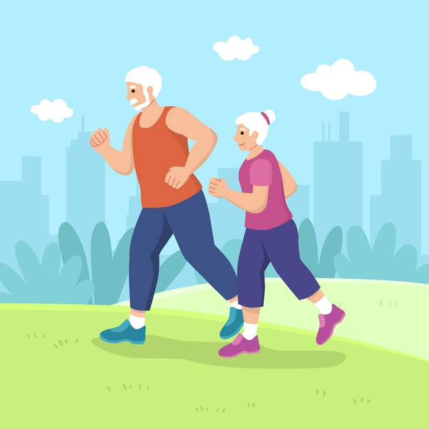 benefit of walking for older adults