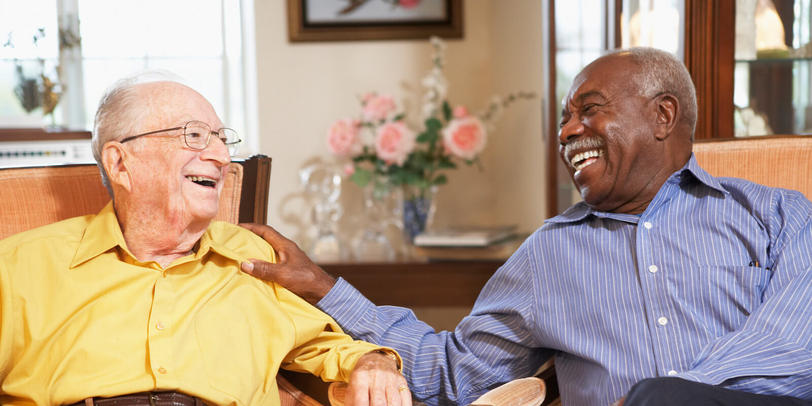 Independent living in NY for senior men and widows