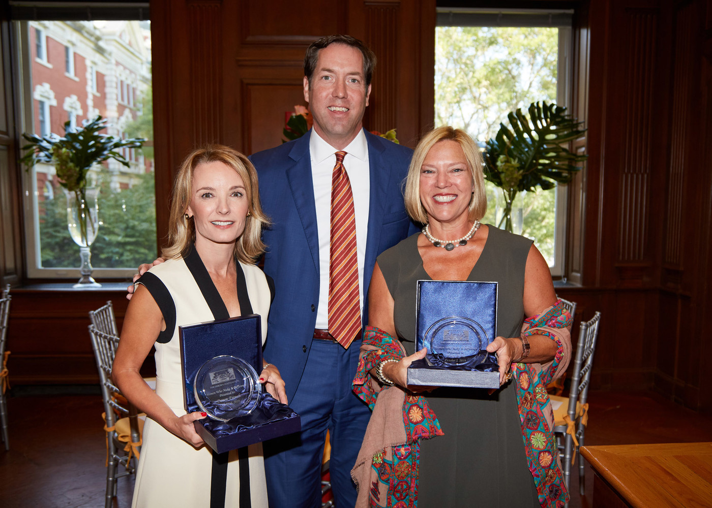 Honorees Dawn French and Jana Seitz with President and CEO Matt Anderson